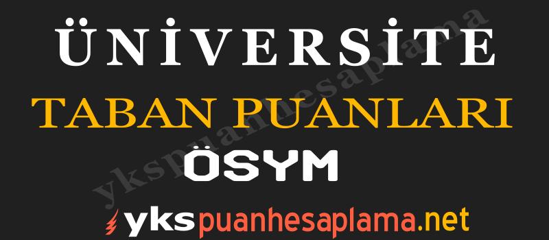 Ermeni Dili ve Edebiyatı Taban Puanları 2020